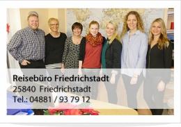 Reisebüro Friedrichstadt Team